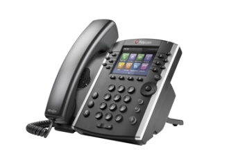 Polycom VVX 400 and 410 (Gigabit Ethernet) Business Media Phones